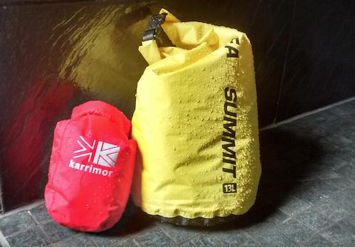 Karrimor vs Sea to Summit dry bags
